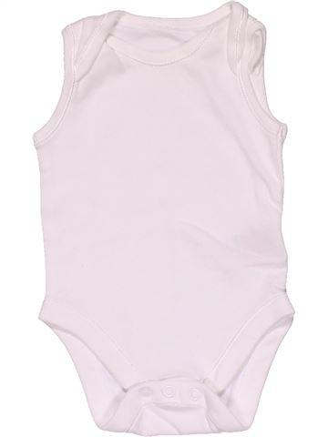 Short jumpsuit unisex MOTHERCARE white 3 months summer #29605_1