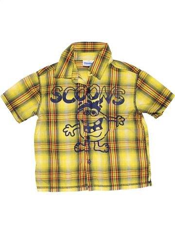 Short sleeve shirt boy DOPODOPO yellow 4 years summer #29631_1