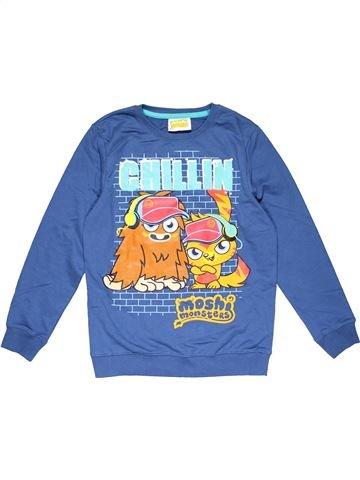 Sweatshirt boy SMITH&BROOKS blue 10 years winter #29668_1