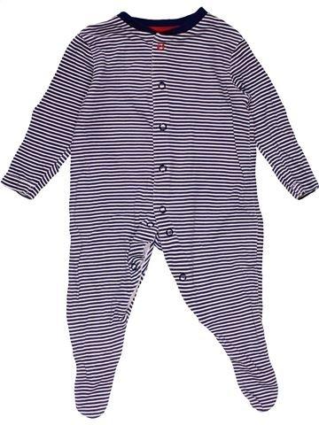 Long jumpsuit boy EARLY DAYS purple 3 months winter #29682_1