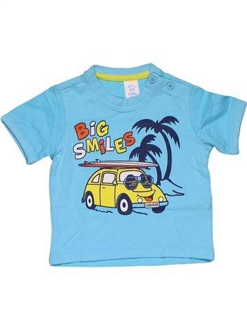 Short sleeve T-shirt boy BABY CLUB blue 6 months summer #29725_1