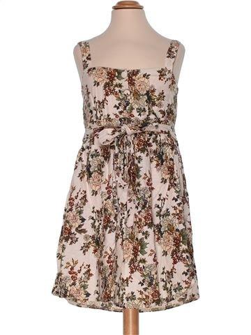 Dress woman APRICOT M summer #2973_1