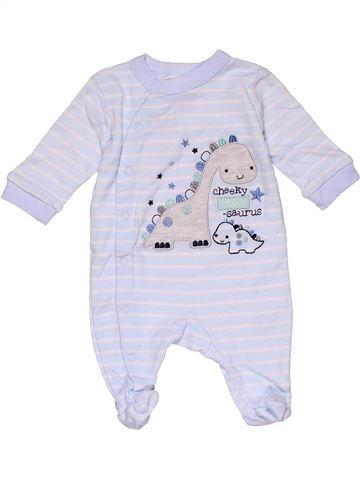 Long jumpsuit unisex MOON & STARS gray new born winter #29841_1