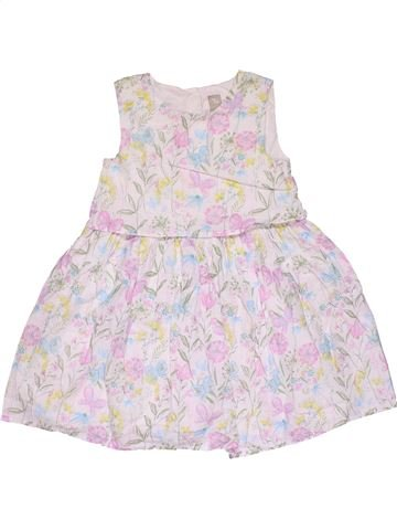 Dress girl TU white 5 years summer #29972_1
