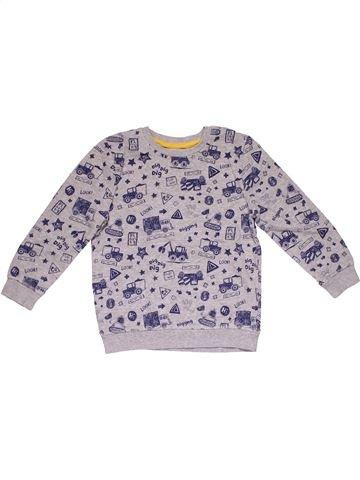Sweatshirt boy GEORGE gray 6 years winter #30008_1