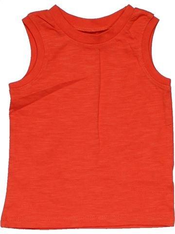 Sleeveless T-shirt boy F&F red 9 months summer #30025_1