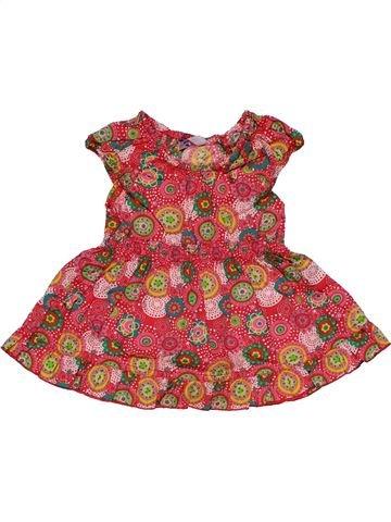Dress girl HEMA red 3 months summer #30047_1