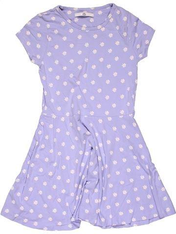 Dress girl MARKS & SPENCER gray 10 years summer #30072_1