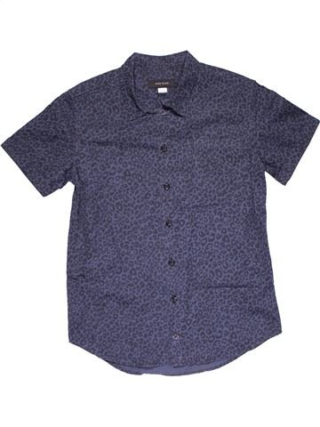 Long sleeve shirt boy RIVER ISLAND purple 12 years summer #30101_1