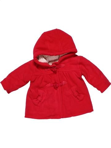 Jacket girl GEORGE red 6 months winter #30127_1