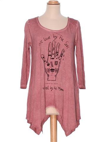Short Sleeve Top woman CLOCK HOUSE M summer #3023_1