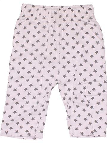 Trouser unisex NO BRAND white 1 month summer #30312_1