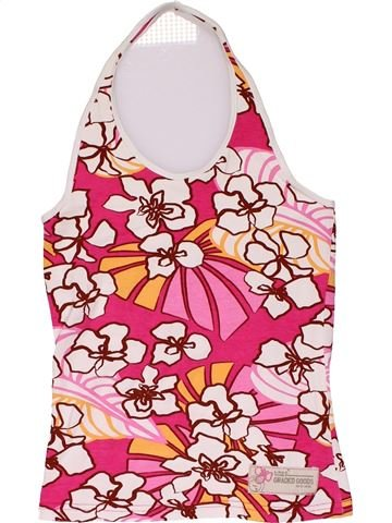Tank Top girl H&M red 12 years summer #30338_1