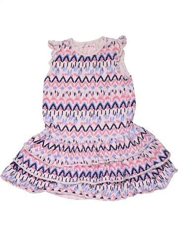Dress girl NUTMEG white 6 years summer #30350_1