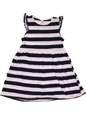 Dress girl H&M white 8 years summer #30353_1