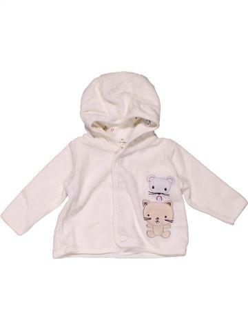 Sweatshirt unisex H&M white 1 month winter #30360_1