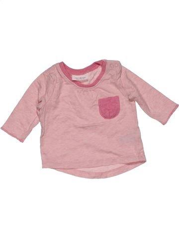 Long sleeve T-shirt girl NEXT pink new born winter #30437_1