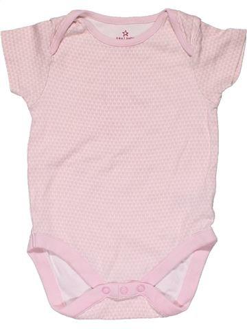 Short jumpsuit girl NEXT BABY white 9 months summer #30463_1