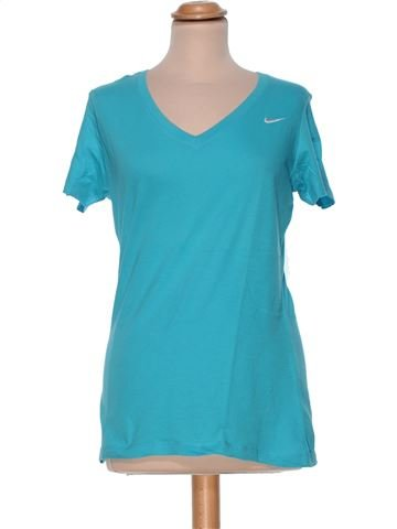 Short Sleeve Top woman NIKE L summer #30915_1