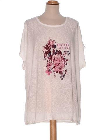 Short Sleeve Top woman JANINA UK 20 (XL) summer #30960_1