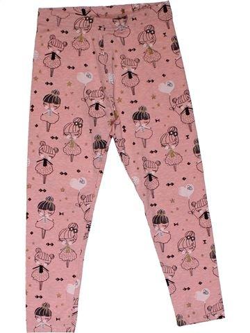 Leggings girl GEORGE pink 6 years summer #31107_1