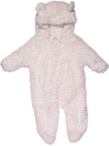Long jumpsuit girl EARLY DAYS white 3 months winter #31137_1
