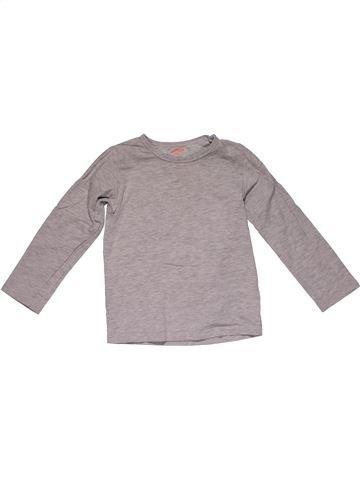 Long sleeve T-shirt girl HEMA purple 2 years winter #31176_1