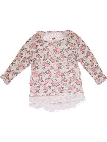 Long sleeve T-shirt girl NO BOUNDARIES pink 9 years summer #31245_1