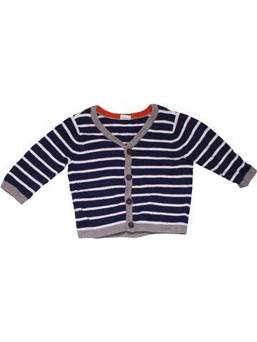 Sweatshirt boy H&M white 6 months winter #31278_1