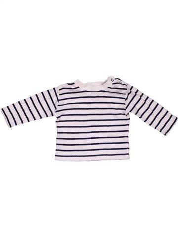 Long sleeve T-shirt boy GEORGE black 3 months winter #31381_1