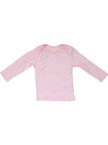 Long sleeve T-shirt girl MATALAN pink 6 months summer #31383_1