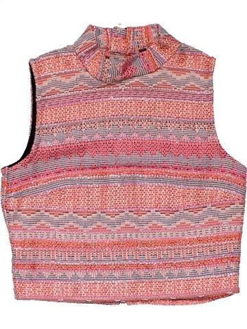 Short sleeve T-shirt girl NO BRAND pink 9 years summer #31395_1