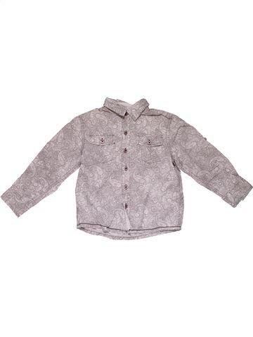 Long sleeve shirt boy NOTTING HILL HERITAGE gray 6 years summer #31469_1
