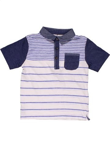 Short sleeve T-shirt boy MATALAN blue 3 years summer #31532_1