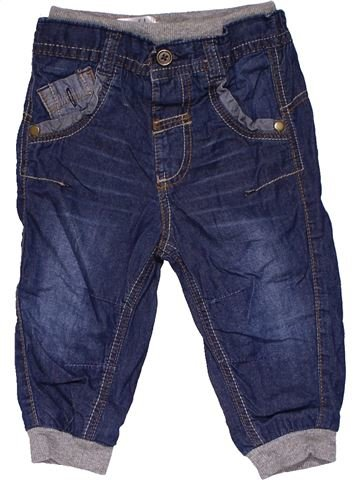 Trouser boy GEORGE blue 9 months winter #31563_1