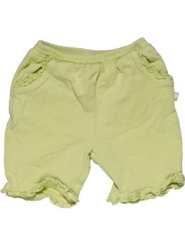 Short pants girl BABY CLUB green 6 months summer #31640_1