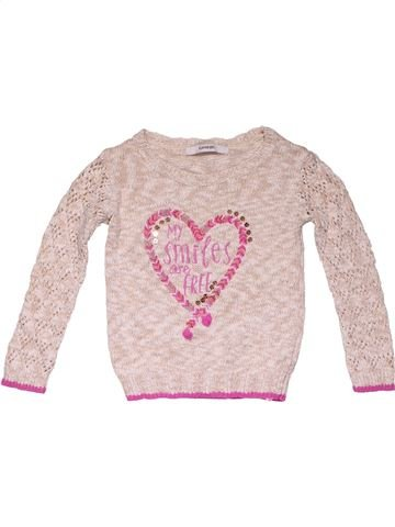 Jumper girl GEORGE pink 2 years winter #31660_1