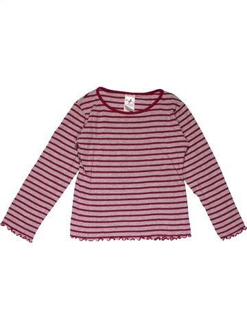 Long sleeve T-shirt girl PALOMINO purple 7 years summer #31669_1