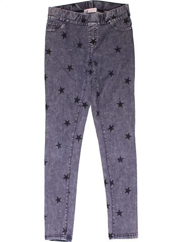 Trouser girl H&M purple 12 years summer #31683_1