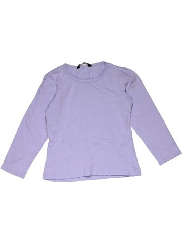 Long sleeve T-shirt girl GEORGE gray 5 years summer #31739_1