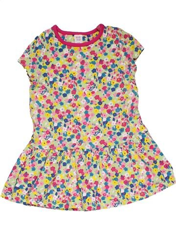 Dress girl MINI CLUB beige 3 years summer #31740_1