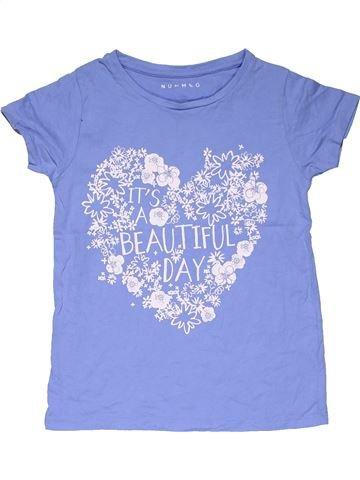 Short sleeve T-shirt boy NUTMEG blue 8 years summer #31768_1