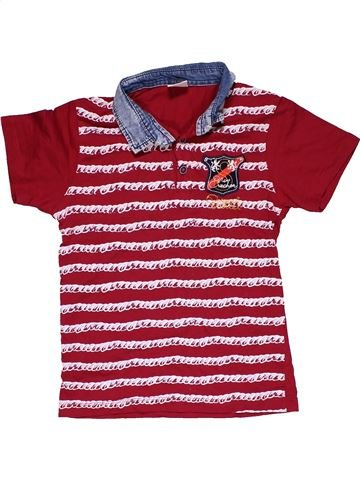 Short sleeve polo shirt boy STARLET purple 9 years summer #31799_1