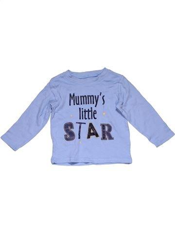 Long sleeve T-shirt boy GEORGE purple 18 months winter #31862_1