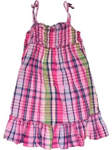 Dress girl NEXT pink 6 years summer #32036_1