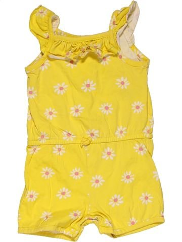Short jumpsuit girl MOTHERCARE yellow 18 months summer #32119_1