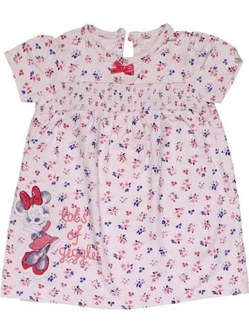 Dress girl GEORGE white 9 months summer #32196_1