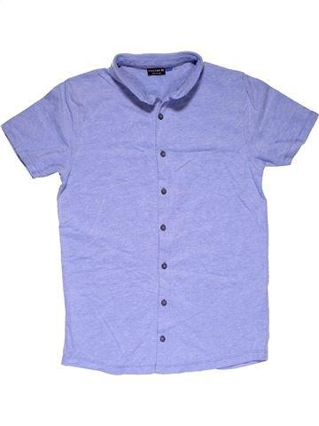Short sleeve polo shirt boy NEXT purple 12 years summer #32210_1