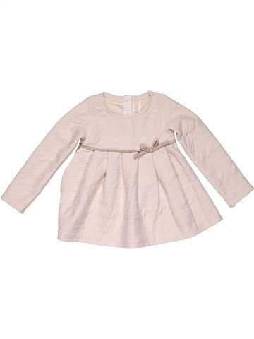 Dress girl FIRST IMPRESSIONS purple 2 years winter #32344_1