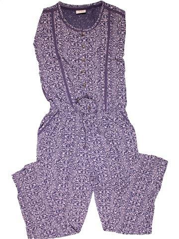 Short jumpsuit girl NEXT gray 11 years summer #32366_1